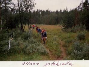 JaPo 1985 Kesäleiri Kuusamossa-7